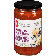 White Corn & Black Beans Salsa, Mild