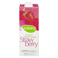 Organic Soy Beverage, Strawberry