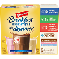 Breakfast Essentials, Breakfast Drink Mix, Variety