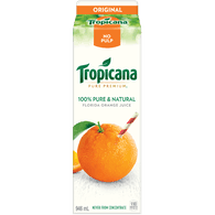 Pure Premium Orange Juice, No Pulp