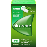 Gum with Whitening, Ice Mint 2mg