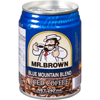 Iced Coffee, Blue Mountain