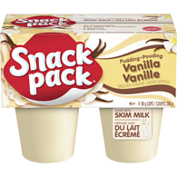 Snack Pack, Pudding, Vanilla