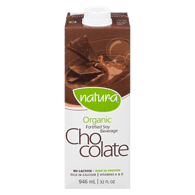 Organic Soy Beverage, Enriched Chocolate