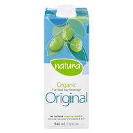 Organic Soy Beverage, Enriched Original