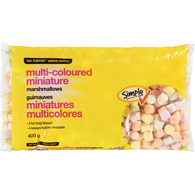 Marshmallows, Miniature Multi-Coloured