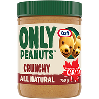 All Natural Peanut Butter, Crunchy