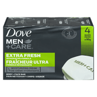 Men+Care Body and Face Bar, Extra Fresh