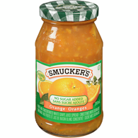 Fruit Spread, No Sugar Added Orange