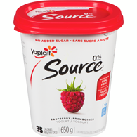 Source Yogurt, Raspberry