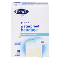 Latex Free Clear Waterproof Bandage