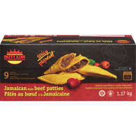 Jamaican Beef Patties, Spicy Hot
