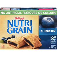 Cereal Bars, Blueberry