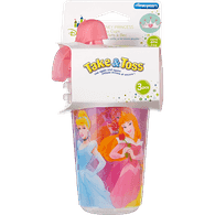Disney Princess Straw Cups, 10oz