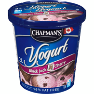 Frozen Yogurt, Black Jack Cherry
