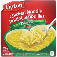 Cup-A-Soup Chicken Noodle Original Recipe Dry Soup Mix, 25% Less Salt