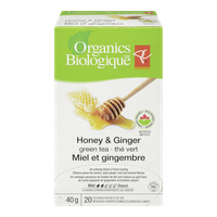 Honey & Ginger Green Tea