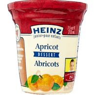 Strained Apricot Dessert Bowl