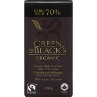 Organic Dark Chocolate, 70% Cocoa