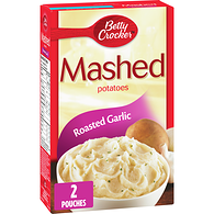 Mashed Potatoes, Roasted Garlic