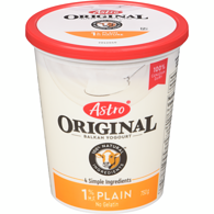 Original Balkan Style Yogurt, Plain 1%