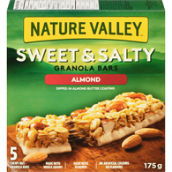 Sweet & Salty Chewy Nut Bars, Almond