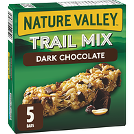Chewy Trail Mix Granola Bars, Dark Chocolate