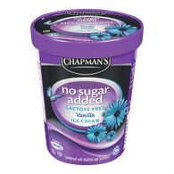 No Sugar Added Lactose Free Ice Cream, Vanilla