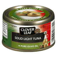 Solid Light Tuna, In Olive Oil
