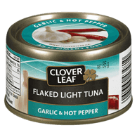 Flaked Light Tuna,  Garlic & Hot Pepper