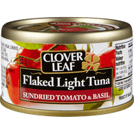 Flaked Light Tuna, Sundried Tomato & Basil