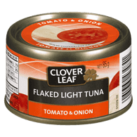 Flaked Light Tuna, Tomato & Onion