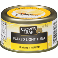 Flaked Light Tuna, Lemon & Pepper