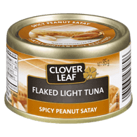 Flaked Light Tuna, Spicy Peanut Satay