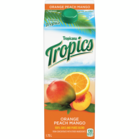 Tropics Orange Peach Mang