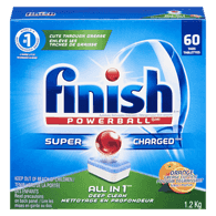 All in 1 Powerball Automatic Dishwasher Detergent, Orange Scent