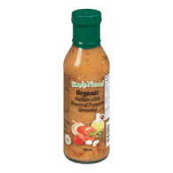 Organic Salad Dressing, Italian with Roasted Pepper