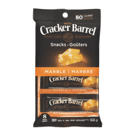 Cracker Barrel Cheese Snacks, Marble Cheddar