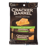 Cracker Barrel Cheese Snacks, Medium Cheddar