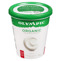 Organic Yogurt, Plain 3.5%