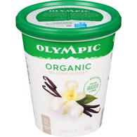 Organic Yogurt, French Vanilla
