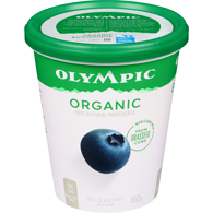 Organic Yogurt, Blueberry