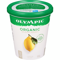 Organic Yogurt, Lemon