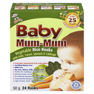 Baby Mum Mum, Vegetable