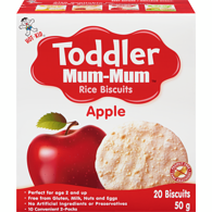 Toddler Mum Mum, Apple Rice