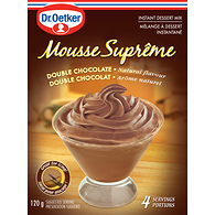 Mousse Mix, Double Chocolate