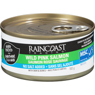 Wild Pink Salmon, No Added Salt