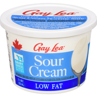 Sour Cream, Low Fat 3%
