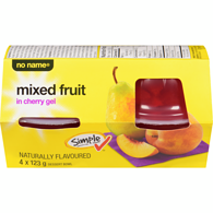 Mixed Fruit in Cherry Gel