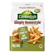 Cavendish Farms Simply Homestyle Straight Cut Fries (750 G)